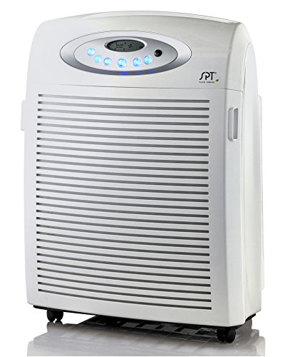 SPT AC-9966 SPT AC-9966 DC-Motor Air Cleaner with Plasma, Ionizer, HEPA & VOC DC-Motor Air Cleaner,,