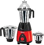 Jaipan JKB-4001 750 W Kitchen Beauty Mixer Grinder (Red & Black)