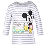 DISNEY Ni�os Mickey Mouse Camisa, gris vigore claro, talla 74, 9 meses