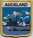 Auckland New Zealand Flag Embroidered Patch Badge