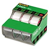 Scotch Magic Tape, 3/4 x 300 Inches, 3-Pack (3105)