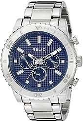 Relic Men's ZR15805 Analog Display Analog Quartz Silver Watch