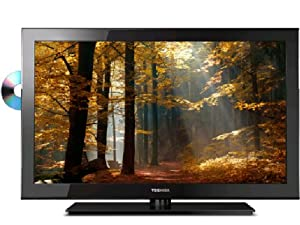 Toshiba 19SLV411U 19-Inch 720p 60 Hz LED HDTV with Built-in DVD Player, Black (2011 Model)