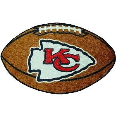Fanmats Kansas City Chiefs Team Football Mat