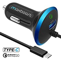 Maxboost 35W USB Type C QC2.0 Car Charger