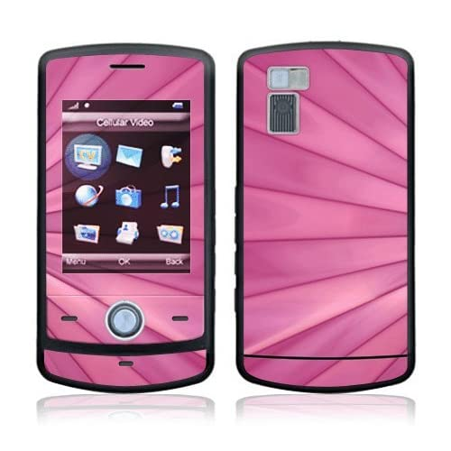 Pink Lines Decorative Skin Cover Decal Sticker for LG Shine CU720 Cell Phone