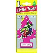 Car-Freshner U1P-10318 Little Trees Car Air Freshener-CINNA-BERRY AIRFRESHENER