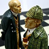 【盤上での推理対決】チェス駒 シャーロック・ホームズ A163S