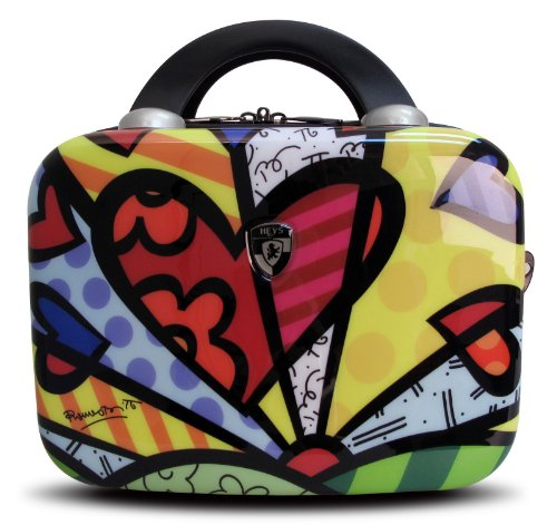 Heys USA Luggage Britto New Day Hard Side Beauty Case, Multi-Colored, One Size best seller