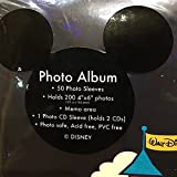 Walt Disney World 2015 Character Photo Album Holds 200 Photos