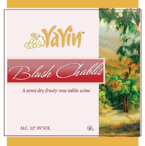 Nv Yayin Blush Chablis Kosher Wine 1.5 L