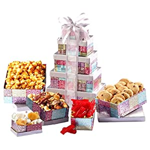 Broadway Basketeers Thinking of You Chocolate Gift Tower