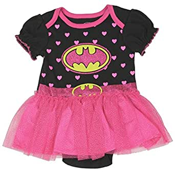 "BATGIRL Baby Girls ""Creeper Bodysuit Snapsuit"" Tutu Costume"