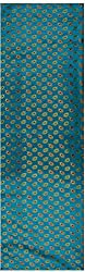 Pari Collection Women's Silk Unstitched Kurta Material (Firozi)