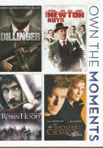 Dillinger/Newton Boys/Robin Hood/Thomas Crown Affa [DVD]