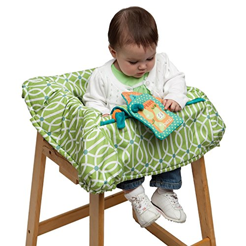 Boppy Shopping Cart Cover - Green - 1