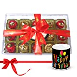 Chocholik Luxury Chocolates - Stunning Collection Of Wrapped Chocolates With Birthday Mug