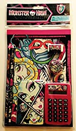 Monster High 7 Piece Calculator Set