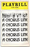 img - for Playbill A Chorus Line book / textbook / text book