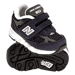 New Balance Infant/Toddler KV993 Velcro Running Shoe