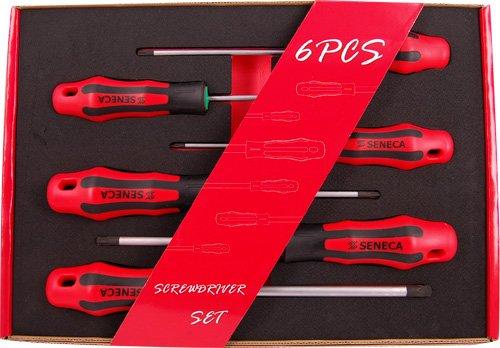 Set De 6 Destornilladores Torx #7634