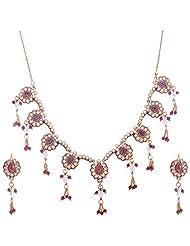 Kisan Jewellers Designer Necklace Set For Women (HSAN/72)