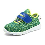 Yuanli Sneakers Kids Lace-Up Running Shoes Little Kid Big Kid Green 12.5 M US Little Kid