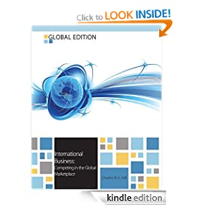 International business competing in the global marketplace 9th edition