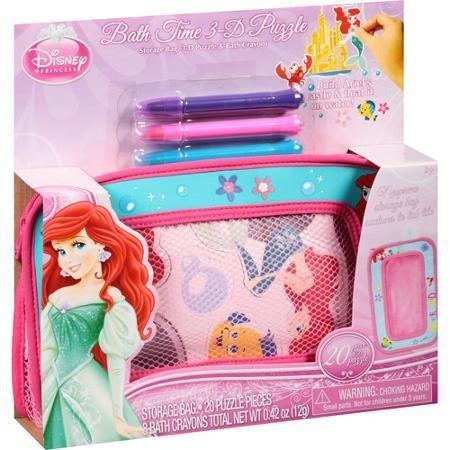 Disney Princess Ariel Bath Time 3 D Puzzle Cameras Optics Photography Darkroo