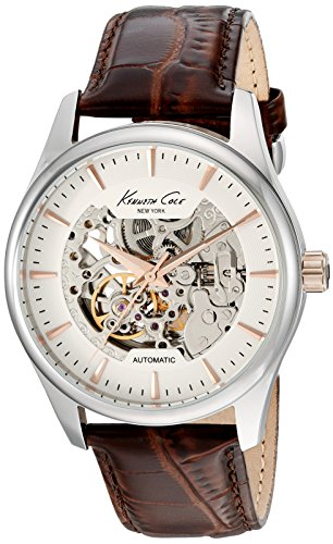 kenneth-cole-mens-automatic-brown-leather-strap-kc10027198