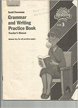 grammar and writing practice book Buy scott foresman grammar and writing practice book: grade 6 at walmartcom.