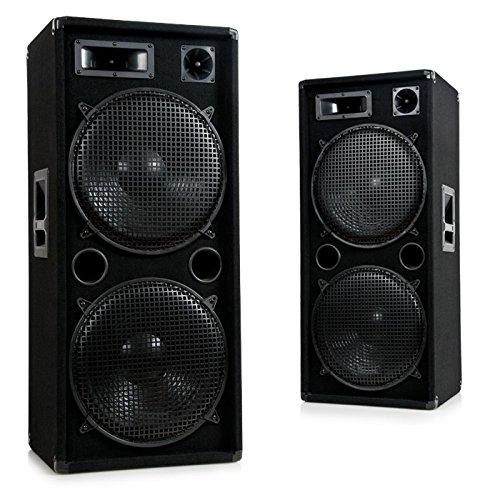 3000W-PA-DJ-Party-Disco-Beschallung-Lautsprecher-PAAR-3-Wege-Boxen-Pro-1500