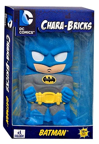 DC Comics Chara-Bricks Batman Vinyl Figure [Blue Suit]