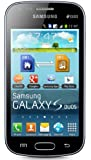 "Samsung Galaxy S DUOS S7562 Unlocked GSM Phone with Dual SIM, Android 4.0 OS, 4"" Touchscreen, 5MP Camera + Seconday VGA Camera, Video, GPS, Wi-Fi, Bluetooth, Stereo FM Radio, MP3/MP4 Player and microSD Slot - Black"