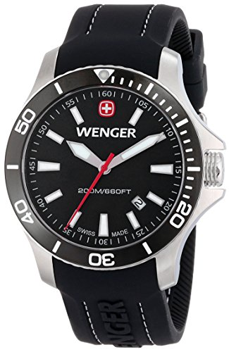 Wenger-Mens-0641103-Sea-Force-3-H-Analog-Display-Swiss-Quartz-Black-Watch