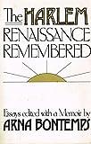 Harlem Renaissance Remembered: Essays