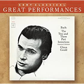 Bach: Two and Three Part Inventions and Sinfonias, BWV 772-801 [Great Performances]