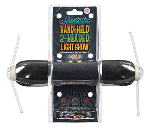 Can You Imagine Fantastic Hand Held 2 Headed Light Show
