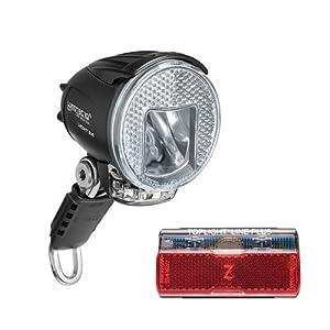 B&M Lumotec Cyo RT Senso Plus schwarz Tagfahrlicht Fahrradlicht Lichtset (inkl. Top Lite Line Plus Rücklicht)  Überprüfung und Beschreibung