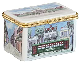 New Orleans Ceramic Keepsake/Trinket Box