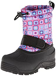 Northside Frosty Winter Boot (Toddler/Little Kid/Big Kid),Pink/Turquoise,2 M US Little Kid