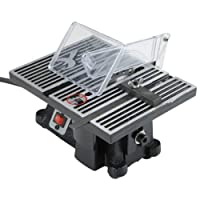 """4"""" Electric High Speed Mini Table Saw, 14,000rpm, Miter Gauge Included by TruePower"""