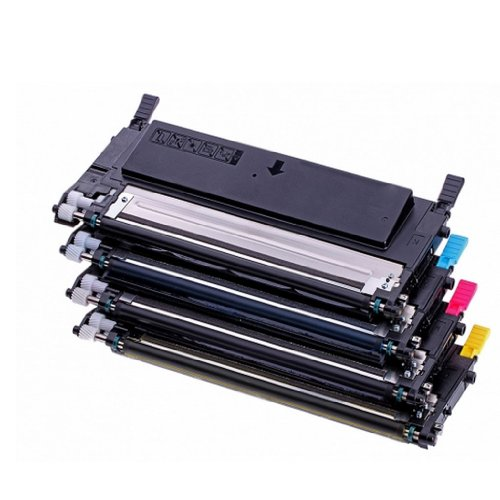 4 x Toner f&#252;r Samsung CLT-P4092C - CLP 310 , CLP310N , CLP 315 , CLP-315W, CLX3170, CLX-3170FN, CLX-3170FN CLX-3175 N/FN/FW kompatibel