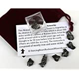 Meteorite from Space, 6 to 9 pcs Campo del Cielo from Argentina with Educational Card