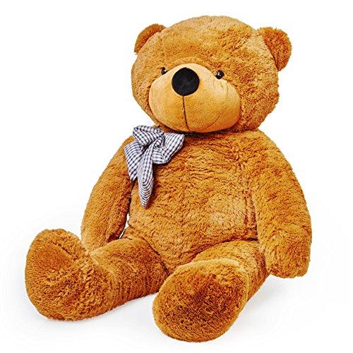 lumaland-riesen-xxl-teddybar-braun-120cm-plusch-kuschelbar