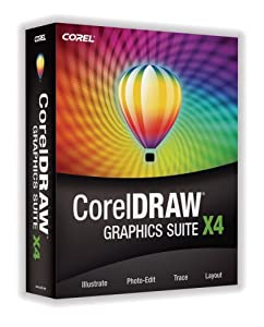 Corel draw Graphics Suite X4 [Old Version]
