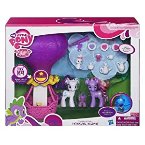 Hasbro My Little Pony Friendship Is Magic Twinkling Balloon Playset