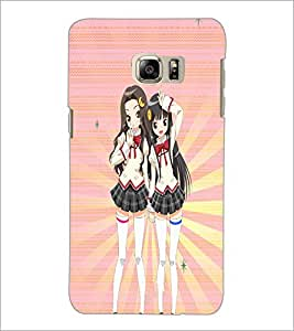 PrintDhaba Fantasy Girl D-5988 Back Case Cover for SAMSUNG GALAXY NOTE 5 EDGE (Multi-Coloured)