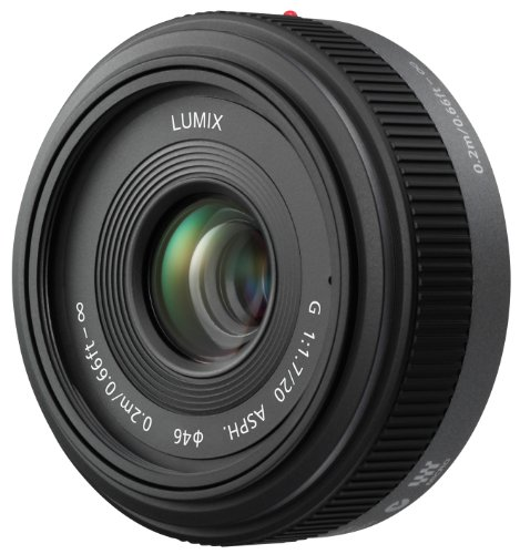 Panasonic Lumix G 20mm/F1.7 Pancake Lens