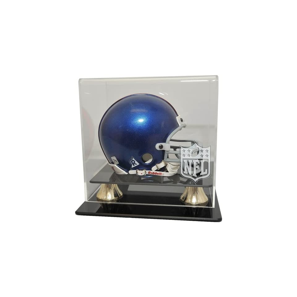 Mini Helmet Display Case   Coachs Choice Style
